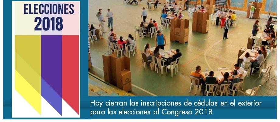 Hoy Cierran Las Inscripciones De C Dulas En El Exterior Para Las Elecciones Al Congreso 2018