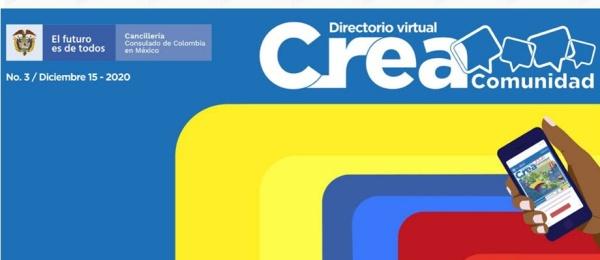 Consulado de Colombia en México publica el Directorio Virtual #CreaComunidadColombia