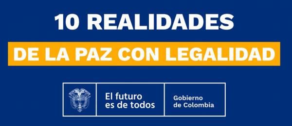 Ante la comunidad internacional, el Presidente Duque expuso 'Las 10 realidades' de la política de Paz con Legalidad